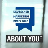 """Deutscher Marketing Preis 2020 – ABOUT YOU"", 17. Mai 2021, 18:30 Uhr"